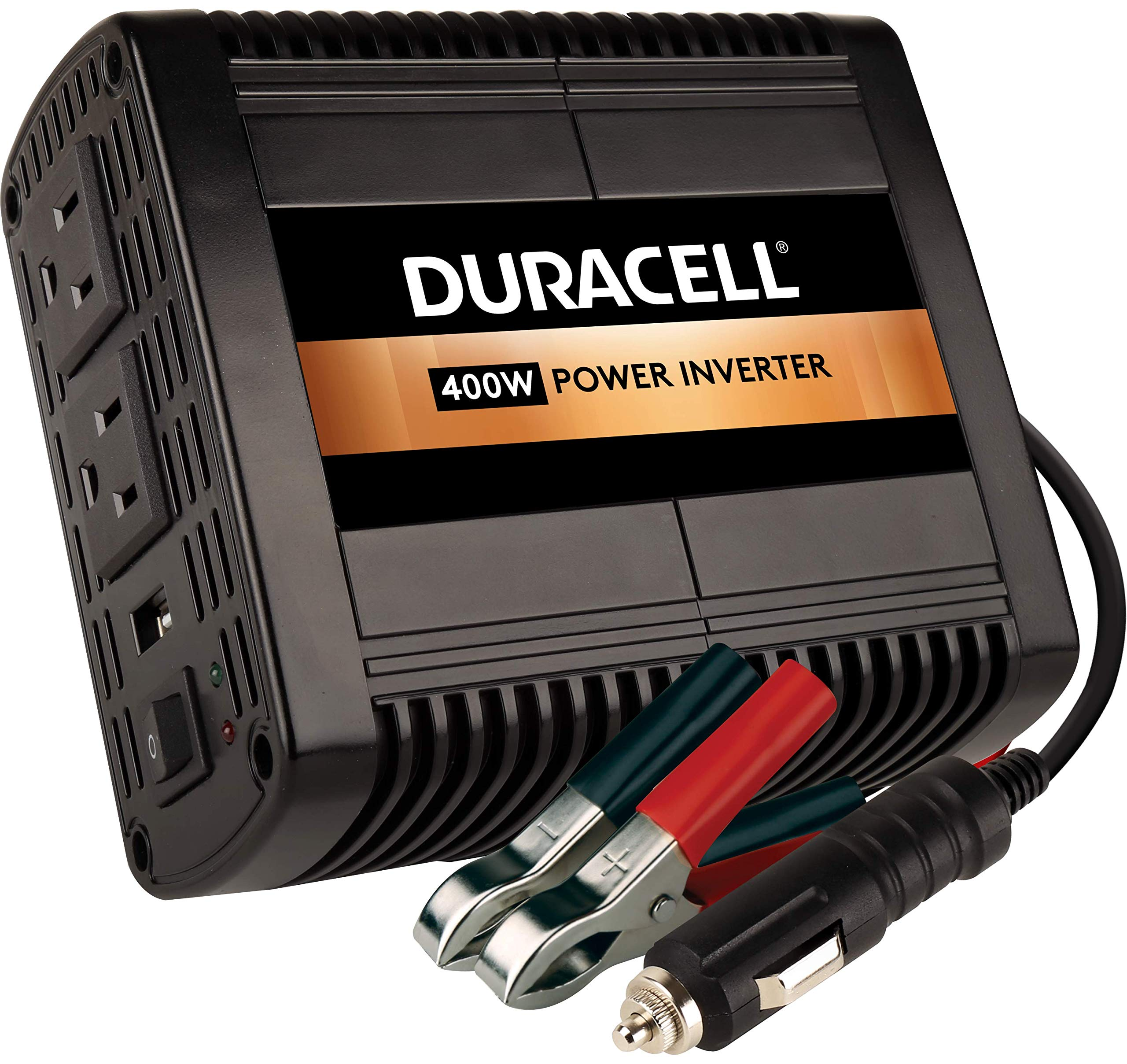 Duracell DRINV400 High Power Inverter 400 Watt Peak