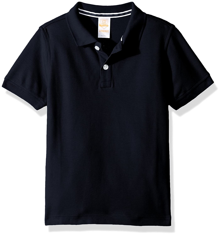 186d837b5 Amazon.com: Gymboree Boys' Little Pique Polo Uniform Shirt, Dark Marine, 6:  Clothing