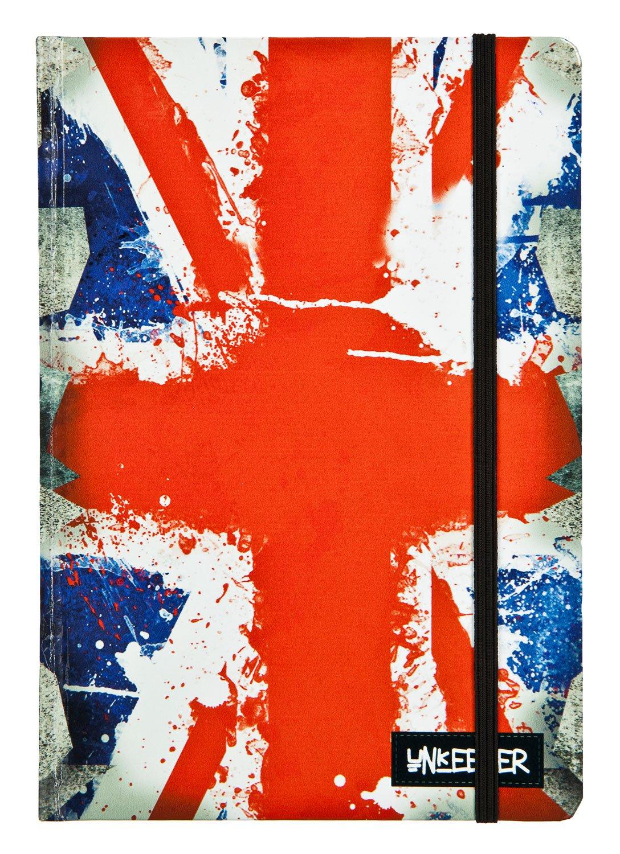 Undercover ukuf0604–Unkeeper–taccuino A5, UK Flag