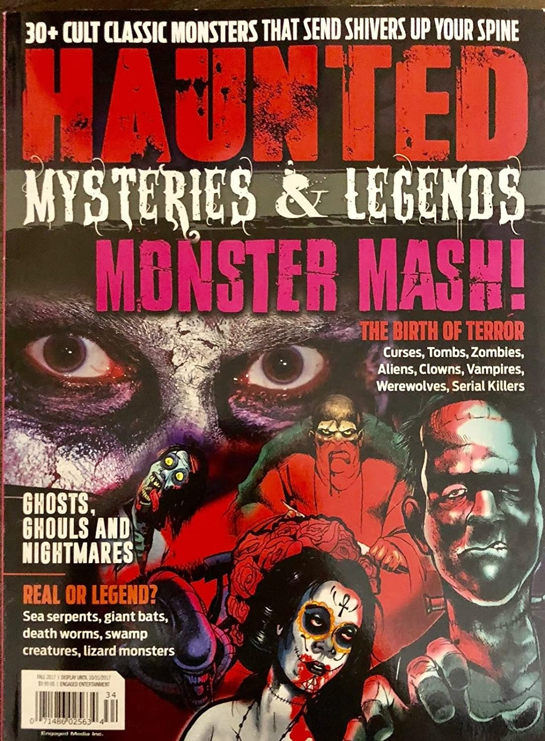 HAUNTED MYSTERIES AND LEGENDS MAGAZINE FALL 2017** s3457