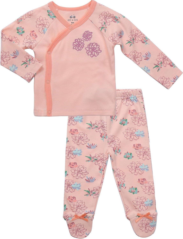 6 Months, Geo Printed Pink Carters Baby Girls Cotton Sleep /& Play