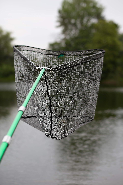 gommato per carpe Retino da pesca con testa a martello grande retino telescopico da 3 m Zite Fishing pesci predatori e molto altro