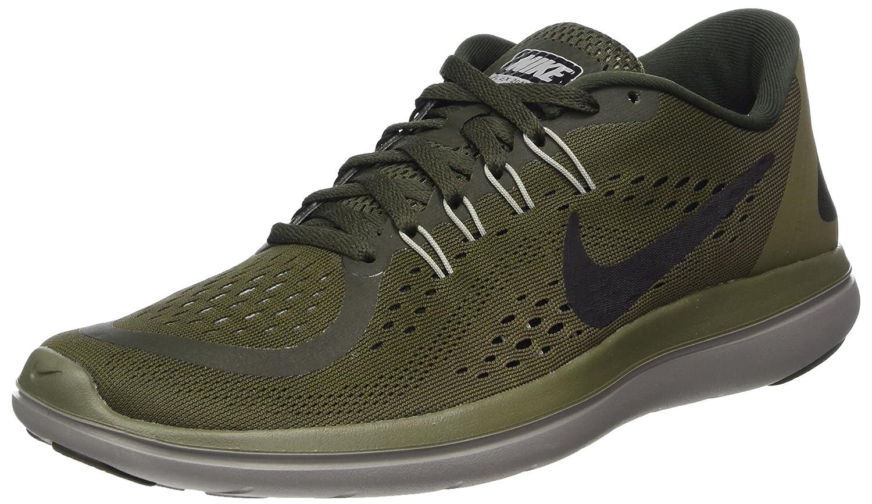 MultiCouleure (Sequoia noir Medium Olive Dust 300) 42.5 EU Nike Flex 2017 RN, Chaussures de Course Homme