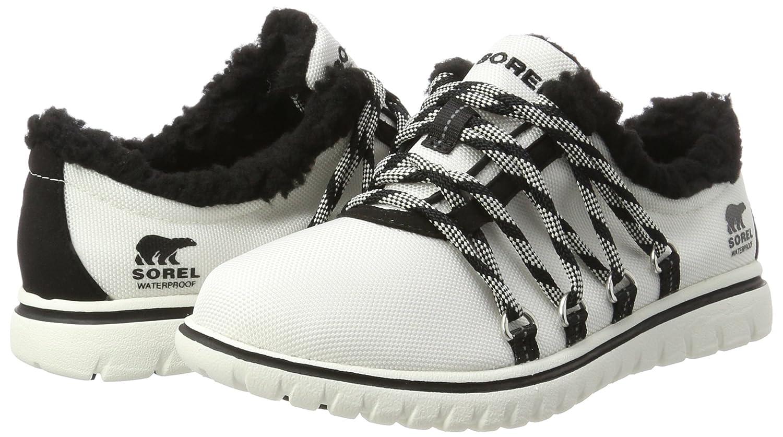 Cozy Go, Sneaker Donna, Avorio (Sea Salt), 37 EU Sorel