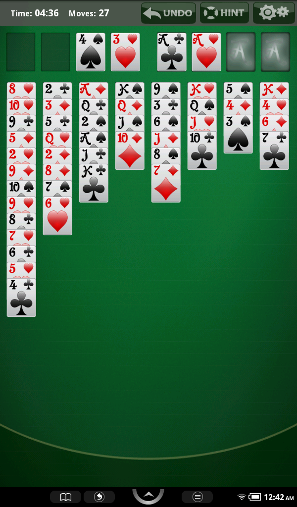 Amazon Com Freecell Solitaire Kindle Tablet Edition