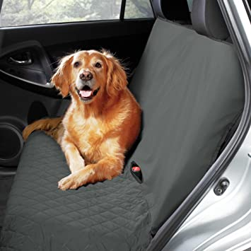 Amazon.com : PawslifeTM Bench Style Quilted Car Seat Cover in Grey ... : quilted bench seat cover - Adamdwight.com