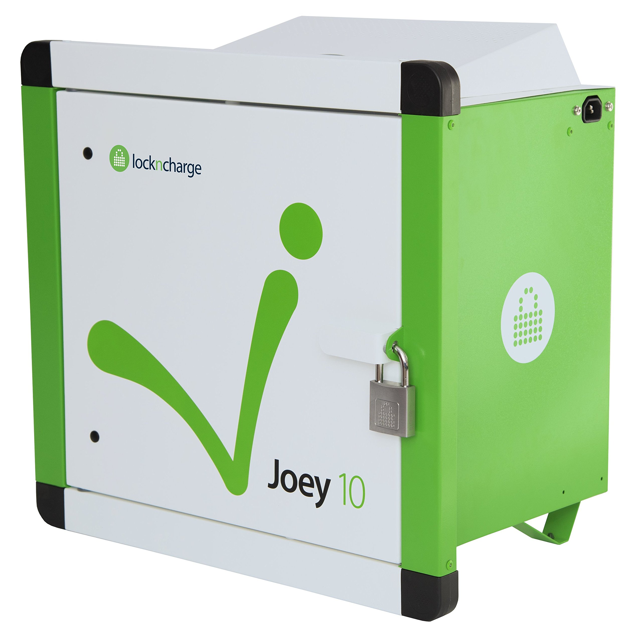 LocknCharge Joey 10 Slot Charging Station, Green/White (10001)