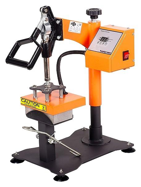 RICOO Prensa del gorro C 505 Prensa de boina orientable Prensa de traslado térmica prensa térmica ...