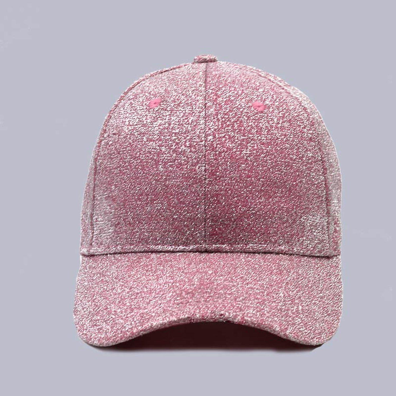 PsemesP Casual Hats for Women Sequins Flashes 6 Panel Trucker Hip Hop Cap Girl s Breathable Mesh Hat Summer Baseball