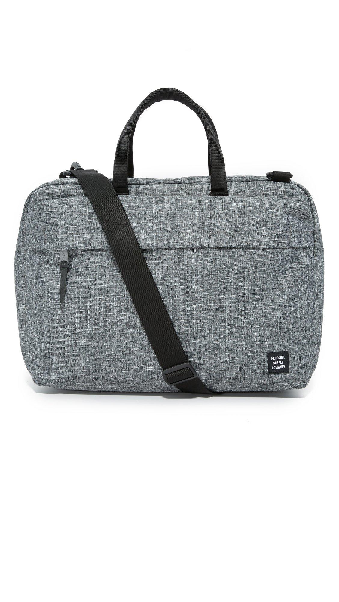 Herschel Supply Co. Sandford Messenger Bag, Raven Crosshatch