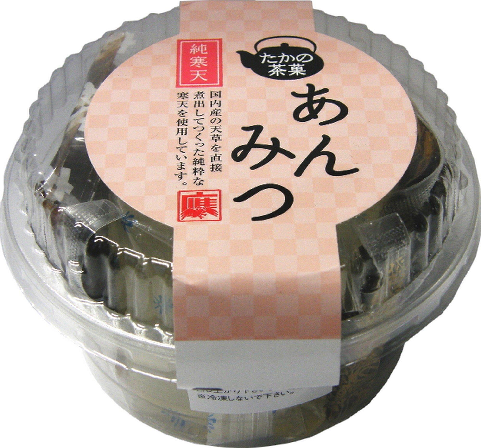 Takano refreshments pure agar Anmitsu 175gX8 pieces