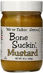 Bone Suckin' Mustard, 12 Ounce