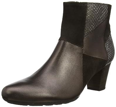 Gabor Shoes Comfort Basic, Bottes Femme, (Schwarz Micro), 37.5 EU