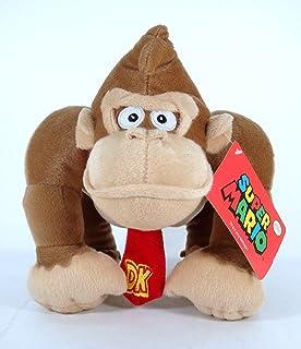 Amazoncom Super Mario Bros Dixie Kong Soft Plush Toy Female Donkey