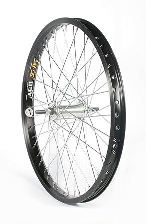 """Bike Original BMX - Rueda delantera para bicicleta (20""""), color negro"""