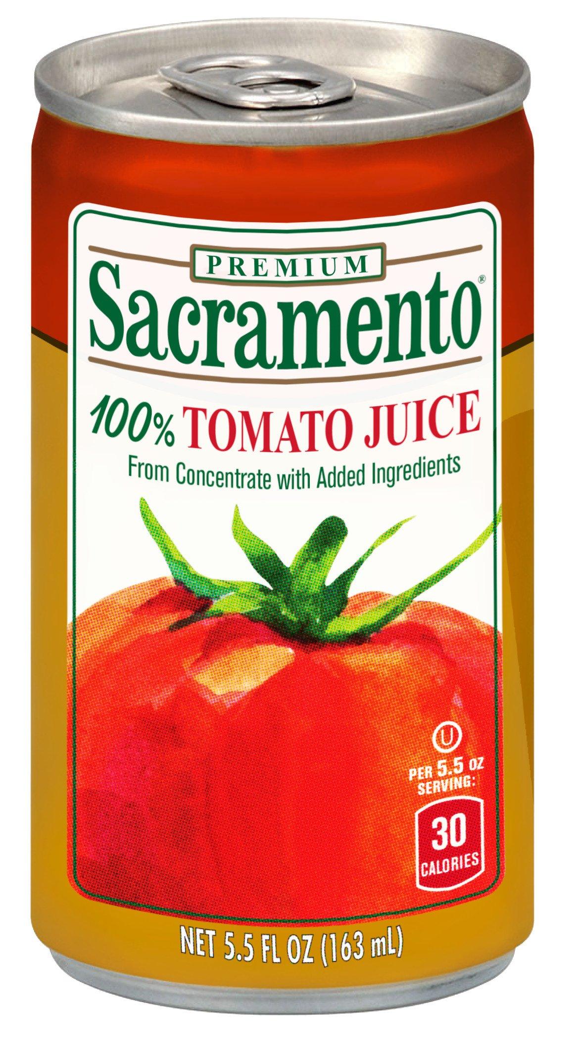Sacramento Tomato Juice, 5.5oz Can (Pack of 48) by Sacramento