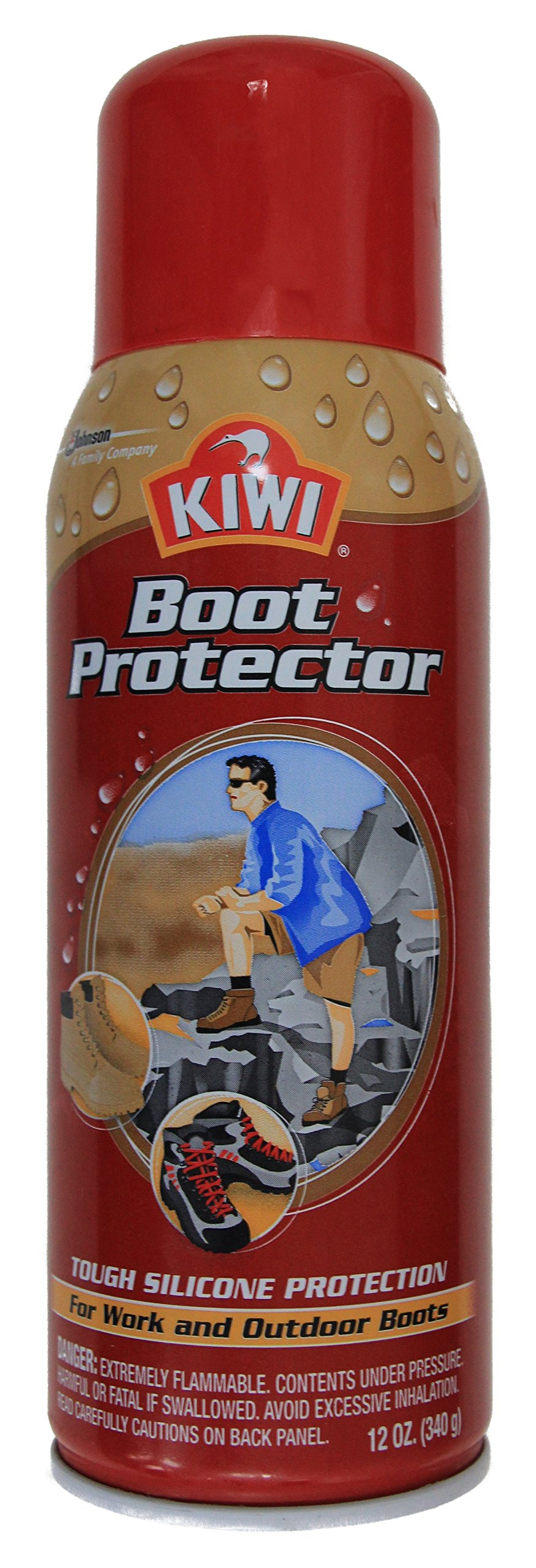 Kiwi Camp Dry Boot Protector, 12 oz., 12 Pack