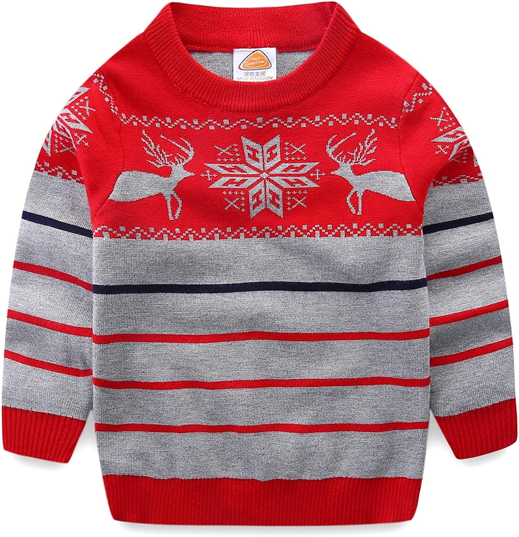 Mud Kingdom Girls Reindeer Sweater