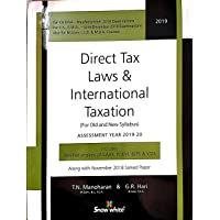 Direct Tax Law & International Taxation
