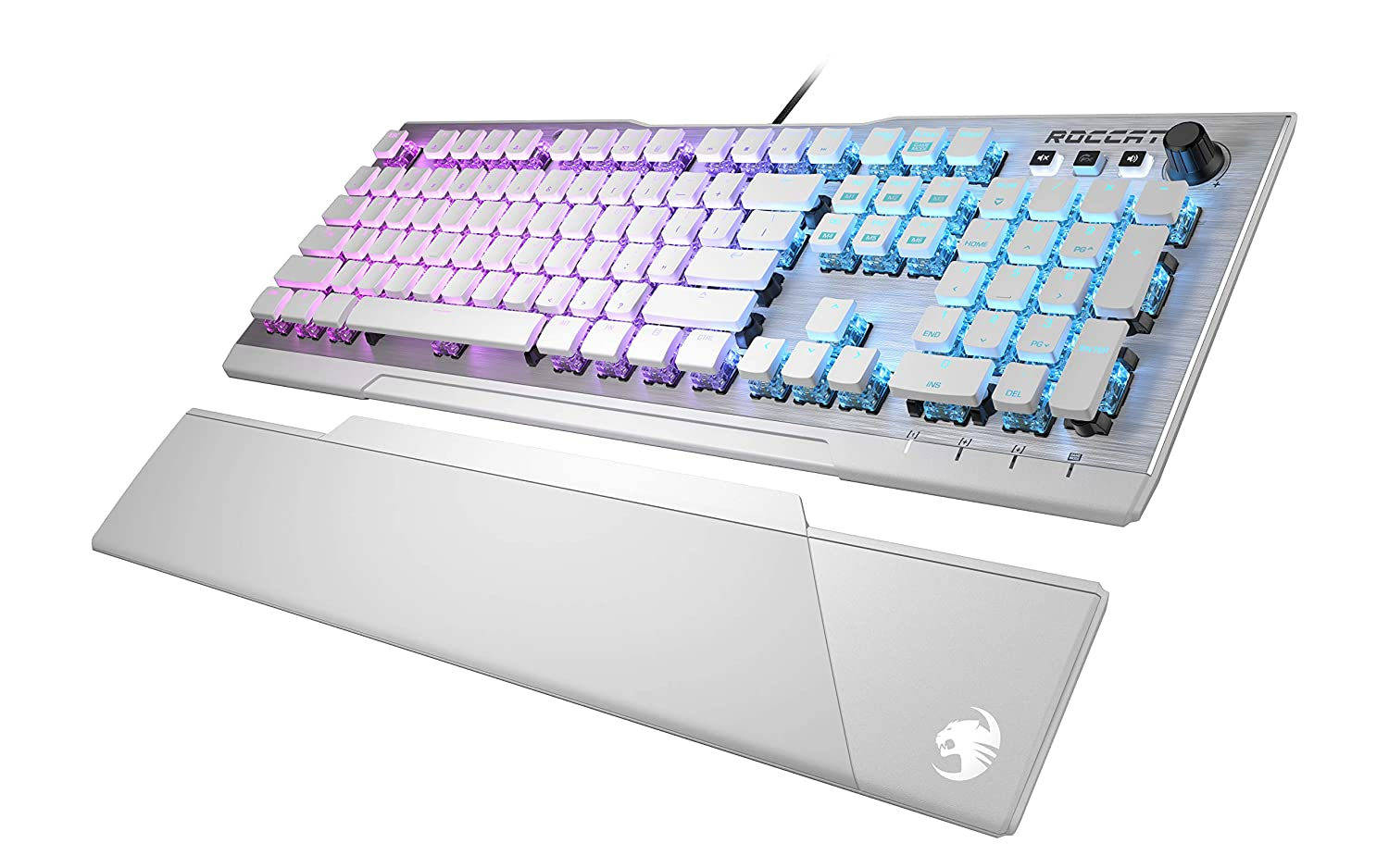 Vulcan 122 Aimo RGB Mechanical Gaming Keyboard – Brown Switches