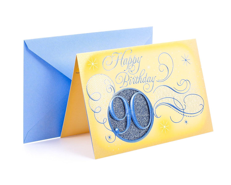 Amazon Hallmark 90th Birthday Card Office Products