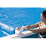Economy Above Ground Pool Solar Cover Reel - 19-24 Feet Wide