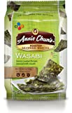 Annie Chun's Roasted Seaweed Snacks, Wasabi, 0.35 Ounce (Pack of 12)