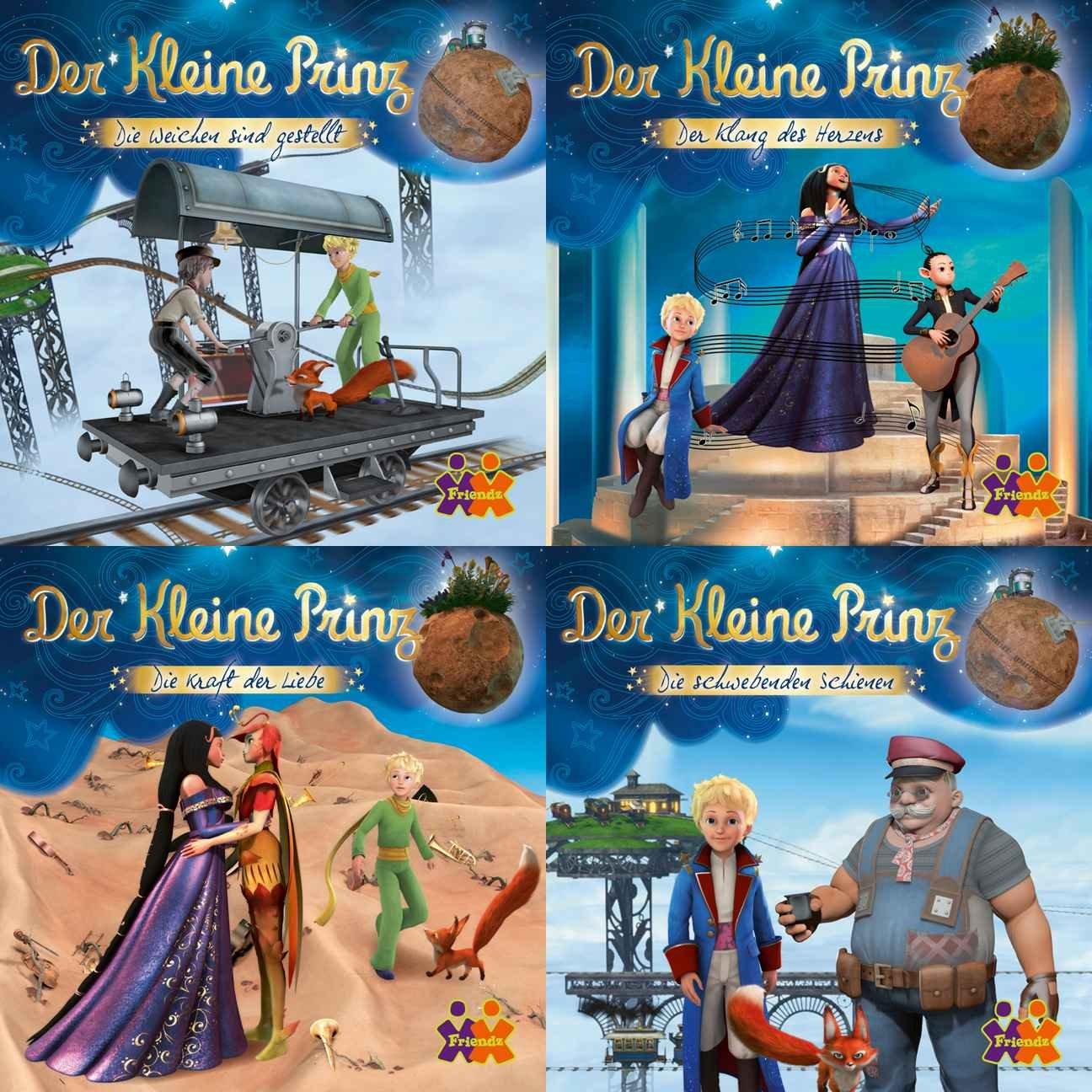 Mini-Bücher Der kleine Prinz 5-8 (4er Set)