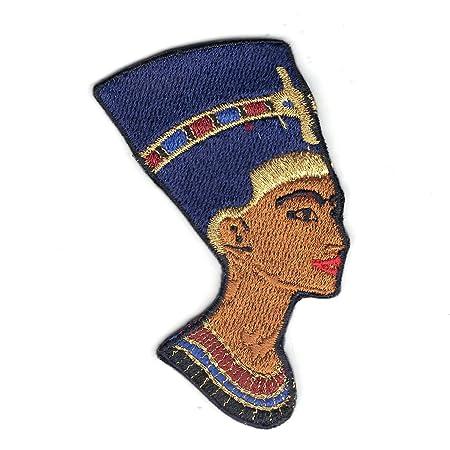 1eda55736 Egyptian Queen Nefertiti Iron On Logo Iron On Embroidered Patch