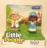 Fisher Price Little People Doctor and Surgeon