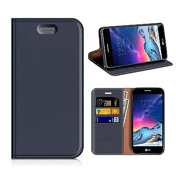 outlet store 9fbfe 88ef6 MOBESV LG K8 2017 Wallet Case, LG K8 2017 Leather Case: Amazon.co.uk ...