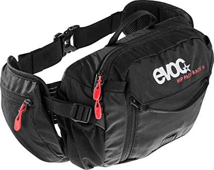 One Size Evoc Hip Pack Race 3L with 1.5L Bladder Olive//Light Petrol