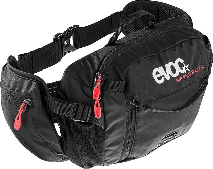 EVOC 102502100 - Sports Hip Pack Race 3L + 1.5 L Bladder, Negro ...