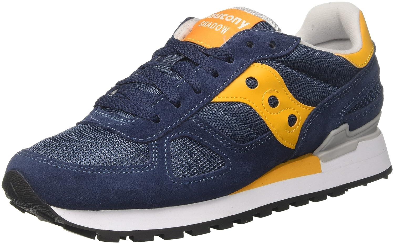 Saucony Shadow Original, Zapatillas de Running para Hombre 46 EU Multicolore (Blue/Yellow 693)