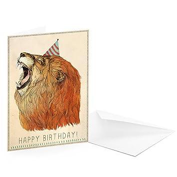 Geburtstagskarte lowe