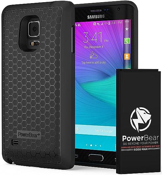 13 opinioni per PowerBear Batterie Étendue Samsung Galaxy Note Edge [6000mAh], Couvercle Arrière