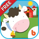 Animal Friends Free - Baby and Toddler Games to Learn Animal Names, Counting, ABC
