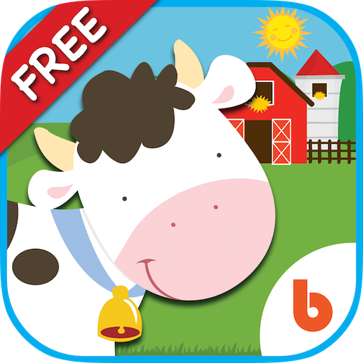 Animal Friends - Free Games to Learn Animal Names, Sounds, Counting For Baby and Toddler
