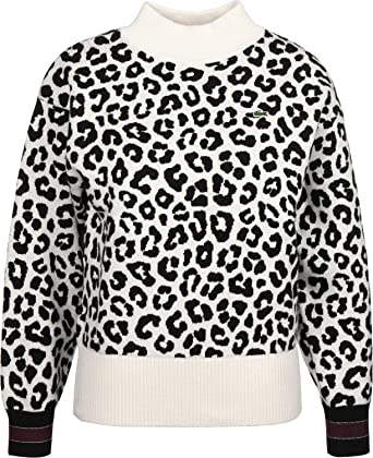 b5f74d9163 Lacoste L!VE W Sweater: Amazon.co.uk: Clothing