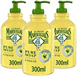 LE PETIT MARSEILLAIS Olive Oil Liquid Hand Soap, 300 ml Pack of 3
