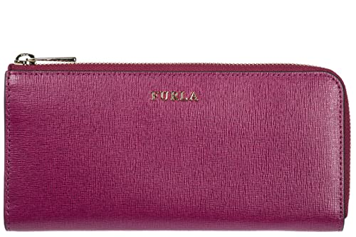 Furla monedero cartera bifold de mujer en piel nuevo babylon violeta: Amazon.es: Zapatos y complementos