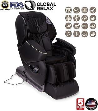 Amazon.com: Global Relax EE. UU. – Nirvana silla de masaje ...