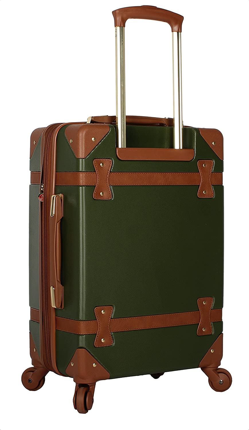 Rosetti Luggage Carry On Expandable Hardside Suitcase With Spinner Wheels