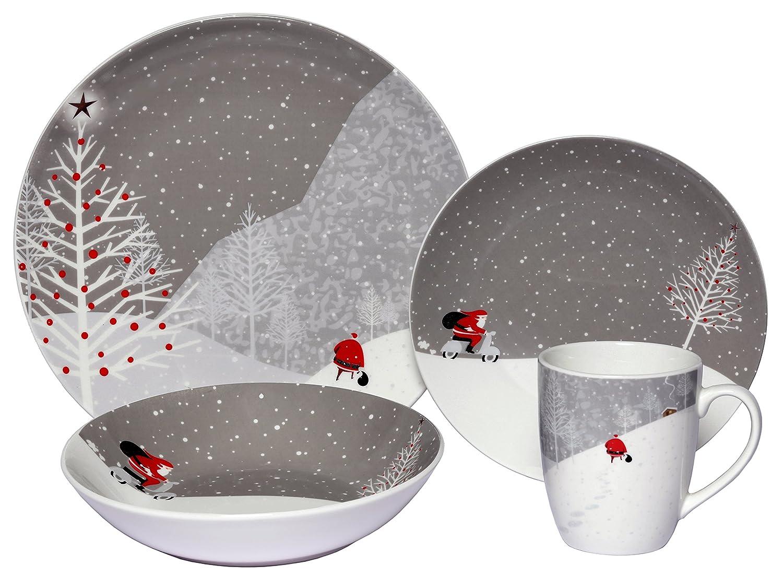 8 originales y baratas ideas para decorar tu mesa en - Vajilla de navidad ...