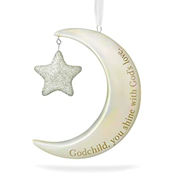 """Amazon.com: Hallmark 2013 """"Godchild"""" Ornament: Home & Kitchen"""