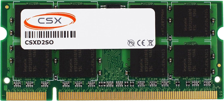Csx 4gb Ddr2 667mhz Pc2 5300 2rx8 8 16chip 200 Pin 1 8 V Cl5 Sodimm Memory