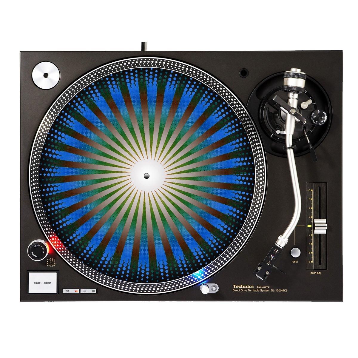 Prism óptica - DJ giradiscos Slipmat: Amazon.es: Instrumentos ...