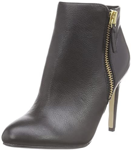 Buffalo London Womens 4147682 INDIOS LEATHER Cold lined classic boots  short length Black Size