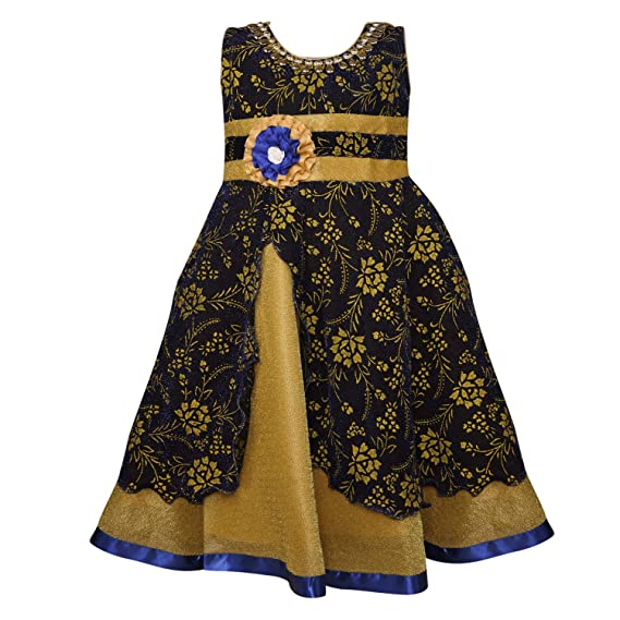 f7f010a9e Wish Karo Baby Girls Net Party Wear Frock Dress - (LF145)  Amazon.in ...