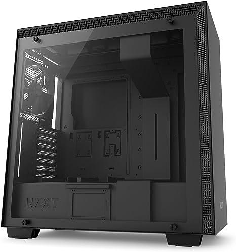 NZXT H700 - Caja PC Gaming de tamaño mediano ATX - Panel de vidrio ...